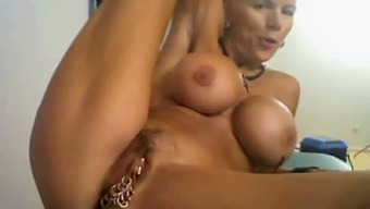 perverted granny on cam, with most groups with her clit...