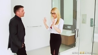 Having just one desk Sarah Vandella signifies the managers have to share