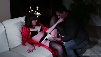 Emotional christian missionary fuck with strong busty housewife Dana DeArmond
