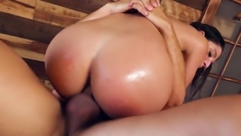 Abella Threat treasures the incline hammering her booty so good