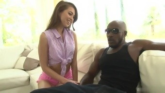 Riley Reid is scarcely permissible, but her pussy is flexed sufficient enough