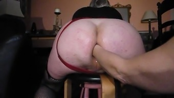 Big Stupid ass fist fuck and pissed on by the Lady friend