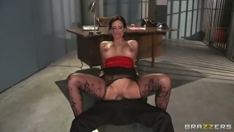smoking sizzling porno star chandler az marie riding the watch official within the imprisonment