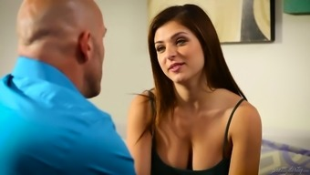 Appealing Leah Gotti is a suntanned gangling cowgirl who exactly thirsts for steady sex