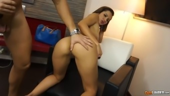 spicy brazilian milf along with booty of a divine feminine elisa completely love wall mounts excess weight boner