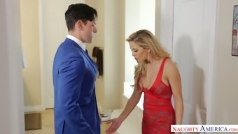 Jaw-dropping MILF Cherie Deville is therefore into your wild prick trip and hot doggy