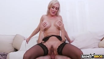 kenzie reeves snagged her mama brandi completely love riding junk