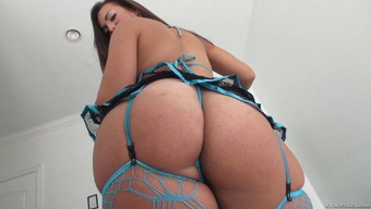 A plus size sweetheart with a great stupid ass gets stupid ass fucked