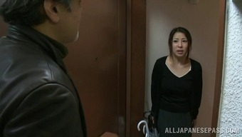 Frisky from asia age homemaker gets fucked by a attractive and natural environment thug