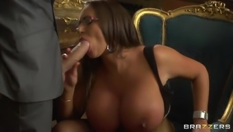 Unreasonably Big tits Emma Buttocks Has Her Moist Pussy Fucked Very difficult