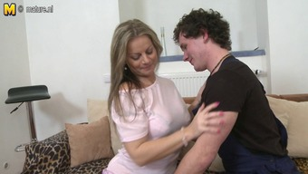 Excellent woman fucks youthful not her son