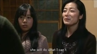Jap mom female child keeping family home m80 subs