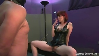 Female friend femdom group strapon whipping and even more