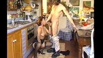 Wedded woman slash in the cooking area during dinner a pal