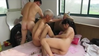 Far eastern Grandpas in Action