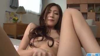 Full pussy stimulation independently show with Kaori Maeda
