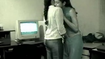 Gorgeous Lesbian Indian Youth Afraid of Getting Wedged