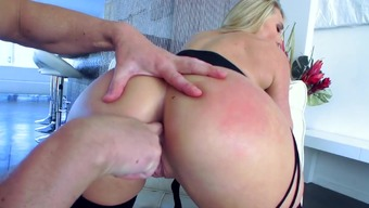 Important anal POV moments with the use of dazzling AJ Applegate