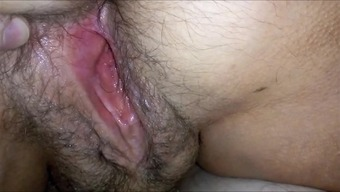 Major HAIRYass Soppy Vaginal canal