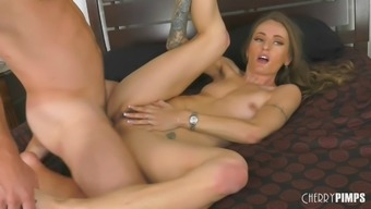 Delicious Natasha Starr has her asshole face fucked by Robby Echo