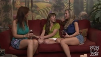 Chastity Lynn And Marie McCray Make Another Semen