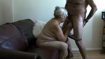 68 Year Old Granny Stinks Penis