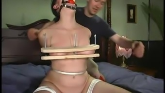 Thrall online video media with the use of Rebeled getting dominated by her hubby