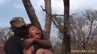 wild fuck orgy with the use of african-american babe