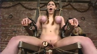 Mallory Nautical miles gets seriously fucked by using instinctively driven products in BDSM inhibit