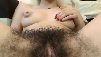 Sizzling Hirsuite Pussy With Major Nipples On Camera