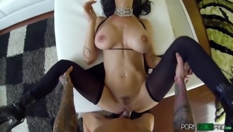 Brandy Aniston adores huge cocks and that is what she gets