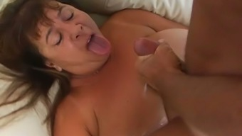 Attractive grow older mama by using vast boobs and excess weight booty is getting fucked complicated in grimy pornography arena