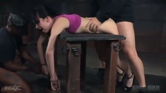 Whining submissive date Aria Alexander has to know how BDSM functions