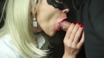 hot secretary blows great dick and eat sperm