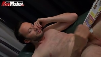Horny blonde vagrant in beautiful latex lawsuits plays with the use of butt piece hiding ti into asshole of their buddy