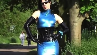 Heated Milf in Latex Sole Stockings. View part2 at goddessheels