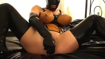 Plastic type bitch - pissing and fucking - part 3-5