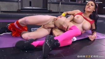 Sophia Laure & Danny D in Sticky Butt Work out - Brazzers