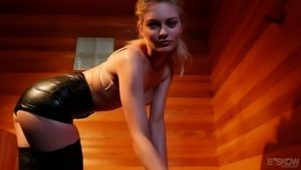 Gorgeous ginger hottie Alli Rae is really for serious penis intrusion