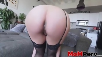 astounding milf along with great titties danica dillon chastisize in pov