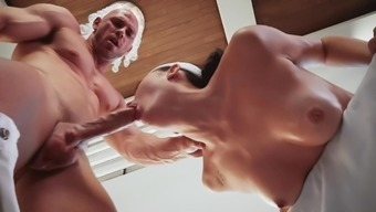 Stylish toy winds up jizzed on have to face and difficult fucked
