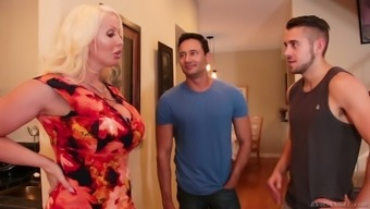 Some wild bisexual MMF threesome shit gonna result from Alura Jenson