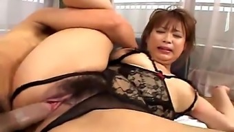 Warm Oriental Plus-size woman Fuck Challenging Uncesored