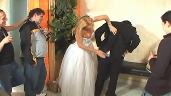 Tranny soon to be bride sex after marriage event