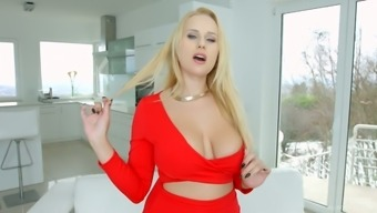 Enormous breasted Czech MILFie hooker Angel Wicky is consequently into using strong penis