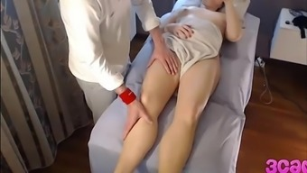 Secret Cam at Massage Parlour Anal passage Spin