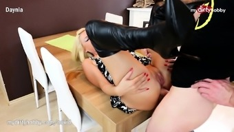 My Dirty Activity - Throat gagging and anal in leather footwear