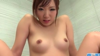 chihiro akino takes undies off for - more at 69avs.com