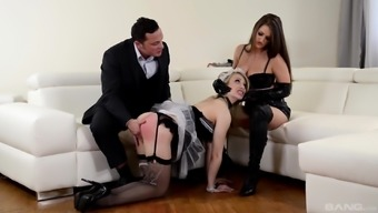 Chessie Kay and one more love really know what a wayward guy likes