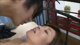 Japanese Mum blackmailed by Move Youngster 6
